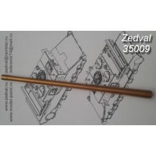 ZEDVAL_35009 85 mm gun barrel S-53