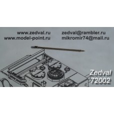 ZEDVAL_72002 30 mm barrel 2A42