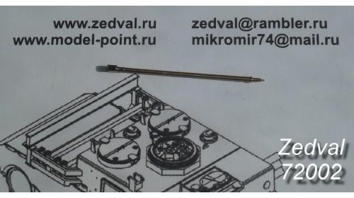 ZEDVAL_72002 30 mm barrel 2A42