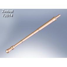 ZEDVAL_72014 12.7 mm machine gun barrel NSVT