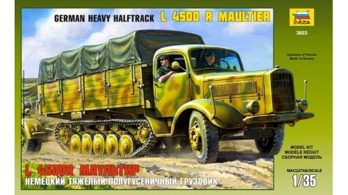 ZVEZDA_3603 Cargo truck L-4500 R Maultier
