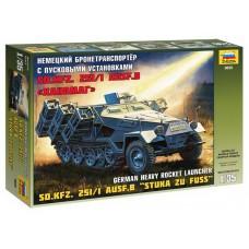ZVEZDA_3625 Sd.Kfz.251/1 Ausf.B