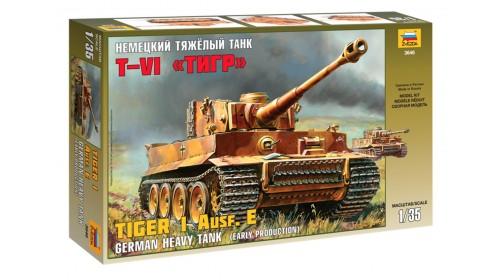 ZVEZDA_3646 Tiger I Ausf. E