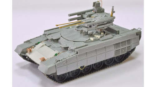 """ZZ_72001 BMPT """"Terminator"""" with a knife mine sweeper KMT-8"""