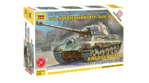 """ZVEZDA_5023 T-VI """"King tiger"""" ausf. b"""
