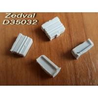 ZEDVAL_D35032 Machine-gun boxes for T-72, T-90