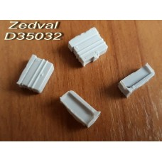 ZEDVAL_D35032 Machine-gun boxes for T-72, T-90