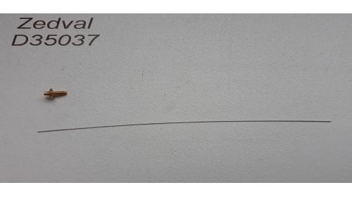 ZEDVAL_D35037 Antenna input for T-34