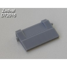ZEDVAL_D72016 Block explosive reactive protection VLD body