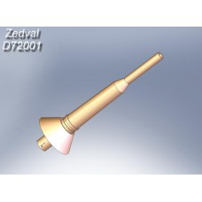 ZEDVAL_D72001 Antenna input for radio stations R-123