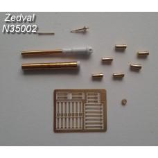 ZEDVAL_N35002 Set of parts for BMP-1P