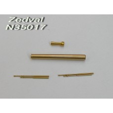 ZEDVAL_N35017 Set of parts for the KV-1 early release