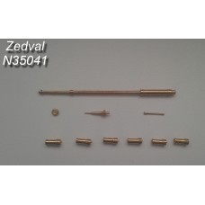 ZEDVAL_N35041 Set of parts for the BTR-80A