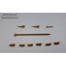 ZEDVAL_N35043 Set of parts for the BTR-60PB (Trumpeter 01545)