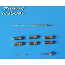 ZEDVAL_N35047 Set of parts for the BTR-70 with MA-7 turret