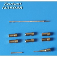 ZEDVAL_N35048 Set of parts for the BTR-70 with MA-7 turret