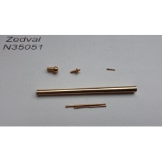 ZEDVAL_N35051 Set of parts for the T-34-76