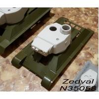 ZEDVAL_N35058 Conversion kit for model T-34/76 in model of the T-34-3