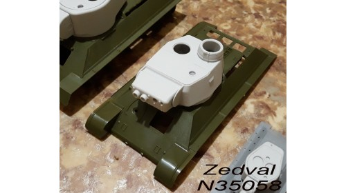 ZEDVAL_N35058 Conversion kit for model T-34/76 in model of the T-34-3