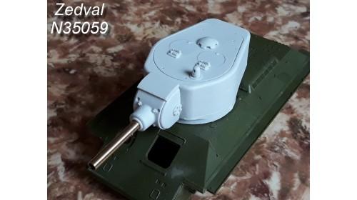 ZEDVAL_N35059 Conversion kit for model T-34/76 in model of the T-34-122