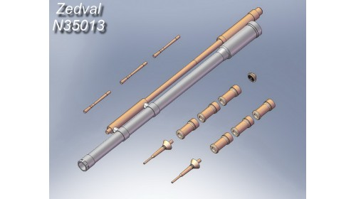 ZEDVAL_N35013 Set of parts for the BMP-3
