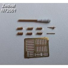 ZEDVAL_N72001 Set of parts for BMP-1P