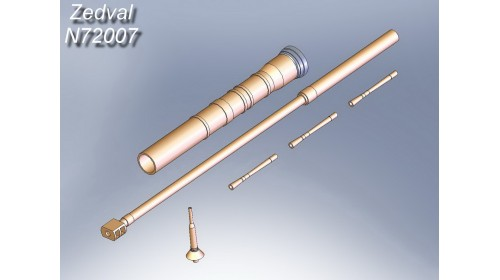 ZEDVAL_N72007 Set of parts for BMD-2