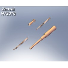 ZEDVAL_N72018 Set of parts for T-26 mod. 1939