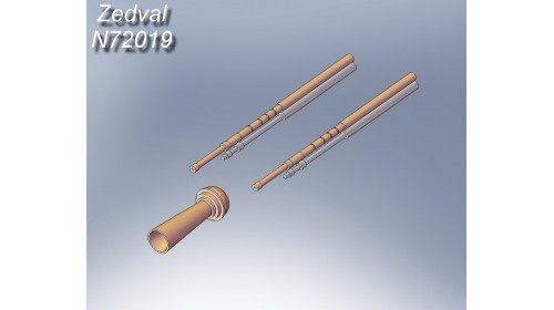 ZEDVAL_N72019 Set of parts for T-26 mod. 1931