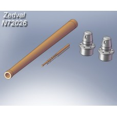 ZEDVAL_N72026 Set of parts for T-34/76
