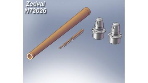 ZEDVAL_N72026 Set of parts for T-34/76