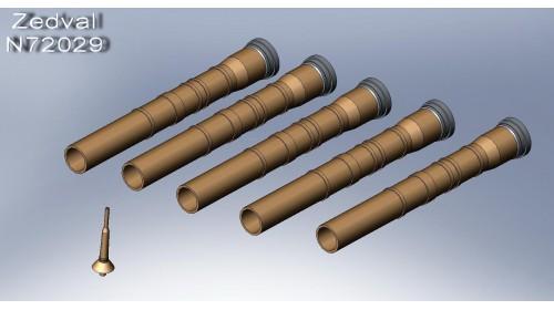 ZEDVAL_N72029 Set of parts for ATGM 9P148