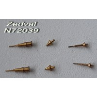 ZEDVAL_N72039 Antenna input for Soviet, Russian armored vehicles