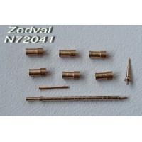 ZEDVAL_N72041 Set of parts for BTR-80
