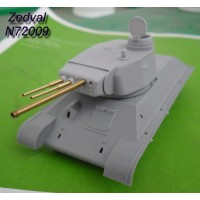 ZEDVAL_N72009 Conversion kit for model T-34/76 in model of the T-34-3
